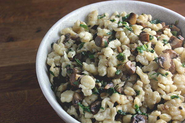 Spaetzle-ramps-mushrooms